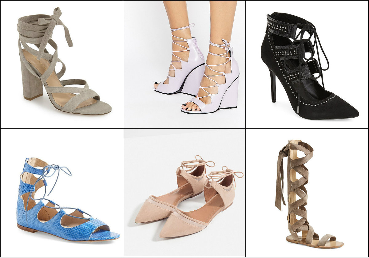 sandale cu snur