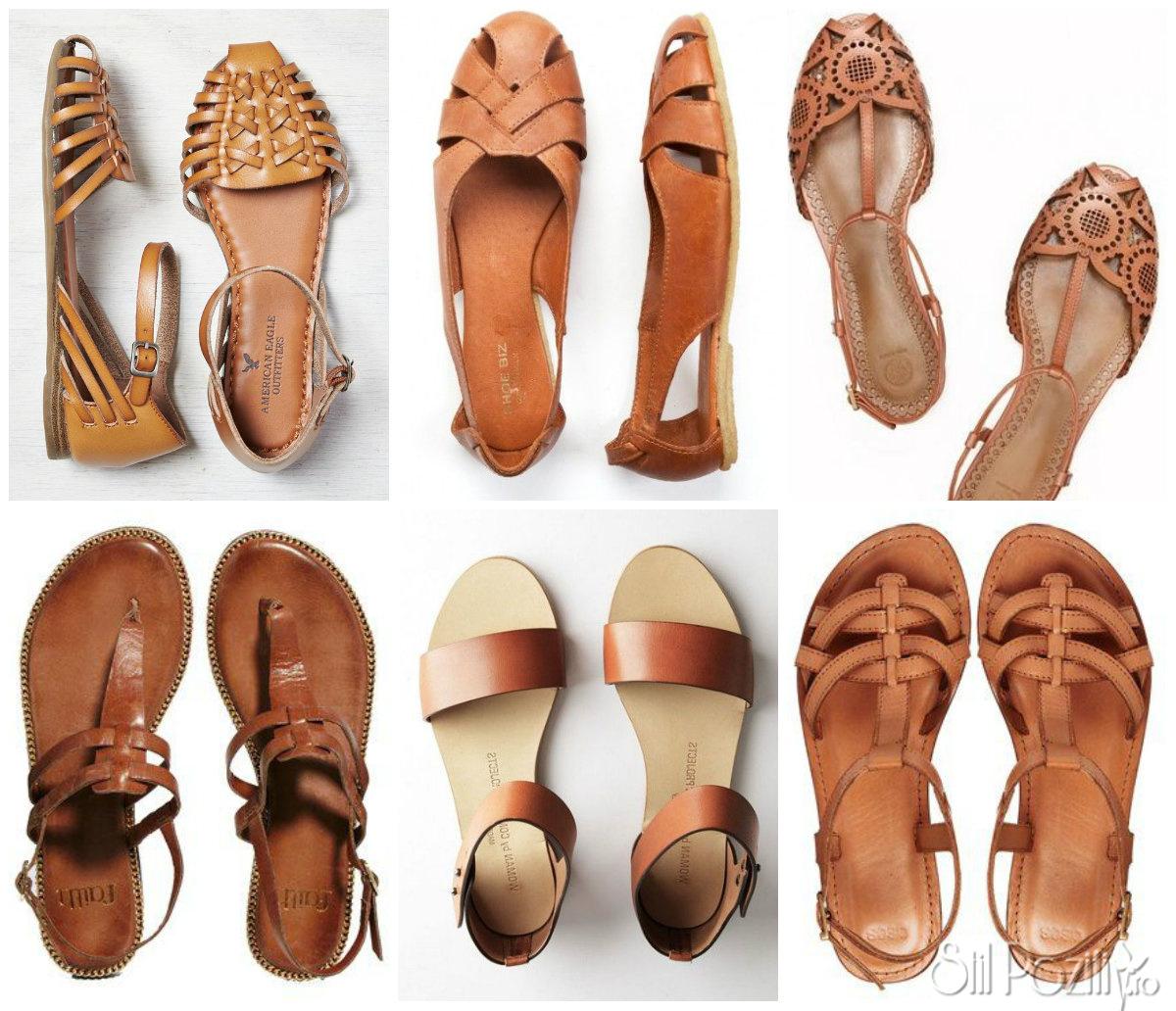 sandale fara toc, sandale talpa joasa