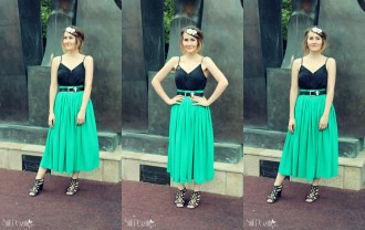 vintage style outfit