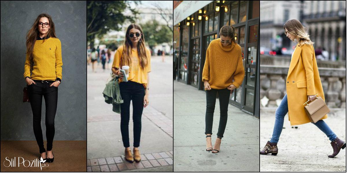 galben mustar outfit